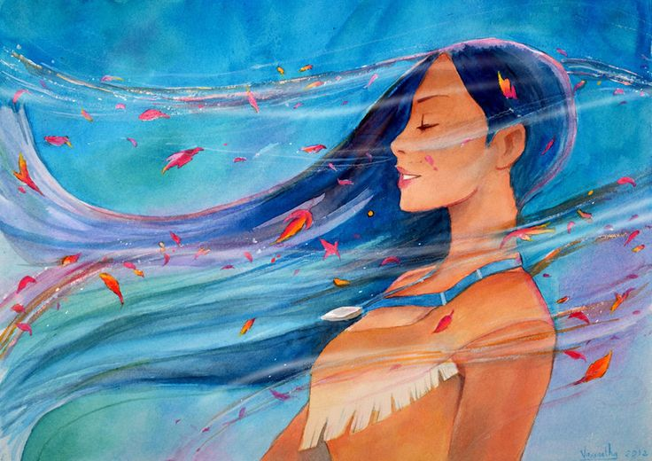 Pocahontas - Colours of the Wind by ~Vassantha on deviantART