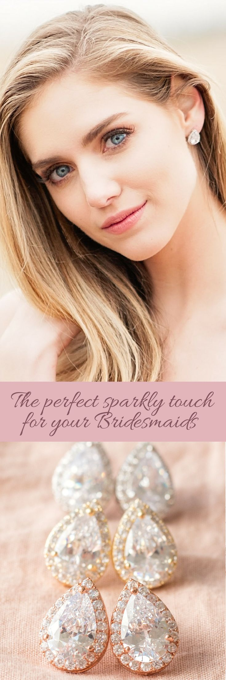 Give your bridesmaids a bit of sparkle on your special day (and a gift they'll love to wear over and over again)!