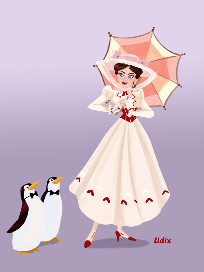 Mary Poppins by buttercupLF.deviantart.com on @deviantART