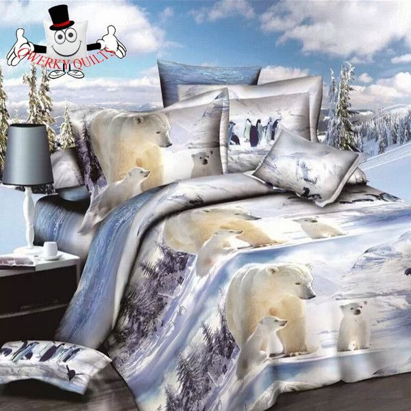 White Polar Bear Baby  Bedding Set and Quilt Cover SALE STILL ON : http://www.qwerkyquilts.com/collections/animal-quilt-cover-bedding-sets/products/white-polar-bear-baby-bedding-set-and-quilt-cover