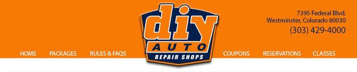 DIY Auto Repair Shops