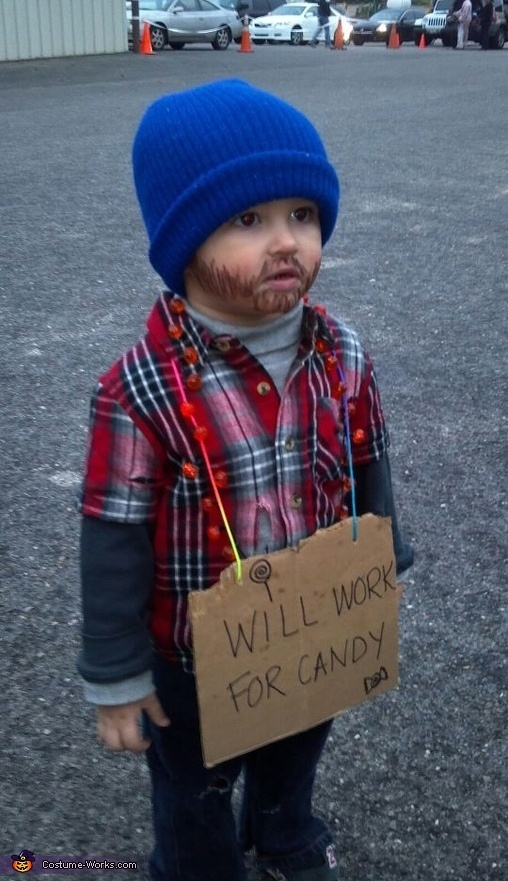 I love this- Alex would be so cute :) ~Amanda +++++++++++++++++++++ Little Bum - cute and easy DIY costume