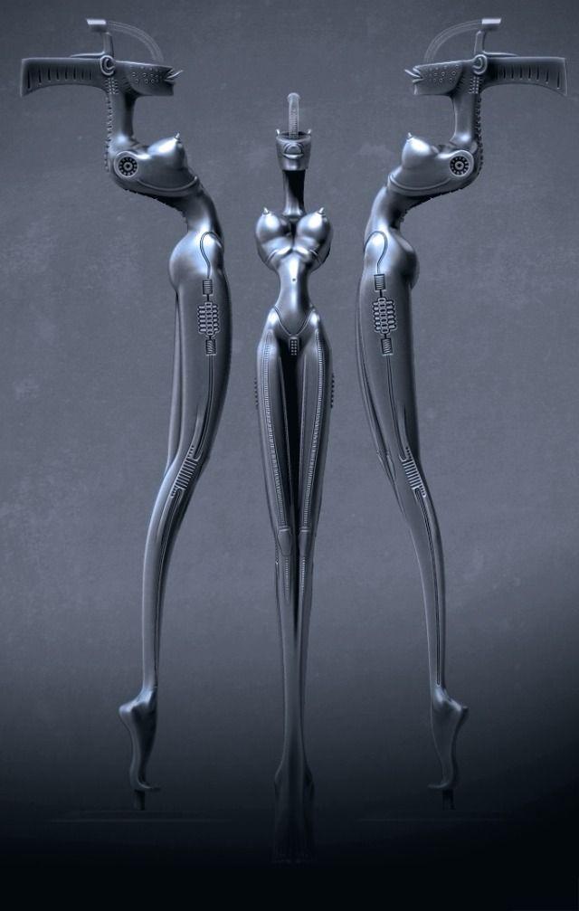 """Hans Rudolf """"Ruedi"""" Giger ,1940 – 2014    """"Alien"""" Designer, was a Swiss surrealist painter, sculptor and set designer."""