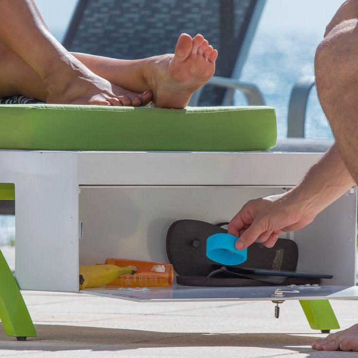 Solar Furniture | Solar Sun Lounge | Outdoor Furniture