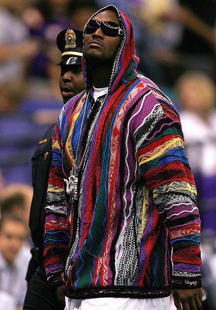 JaMarcus Russell copped in a Coogi