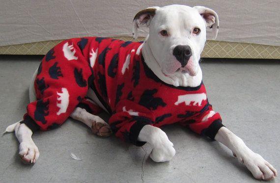 Xx Large Custom Made Cosy Polar Fleece Dog Jumpsuit Coat