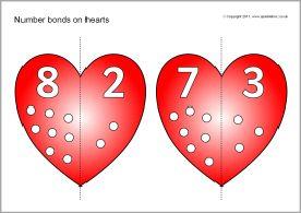 Verliefde harten, rekenen in groep 3