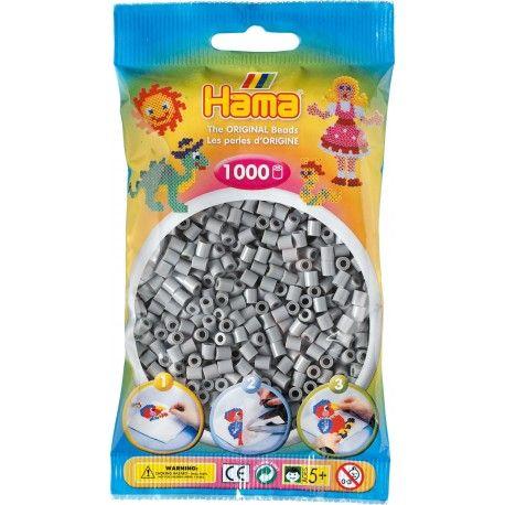 Poniedziałek:)   Hama 207-17 to aż 1000 Popielatych koralików w rozmiarze midi 5mm w woreczku do zaprasowania czy naklejania dla Dzieci od lat 5.   Ułóż swój własny wzór taki jak gwiazdy, planety, konie, serca lub wiele, wiele innych.  Sprawdźcie sami:)  Pomoc rodziców obowiązkowa!  http://www.niczchin.pl/hama-midi-koraliki-w-woreczku/2074-hama-207-17-popielate-1000-koralikow.html  #hama #koralikihama #hamamidi #zabawki #niczchin #krakow