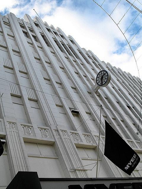 Myer Bourke Street Melbourne  Art Deco