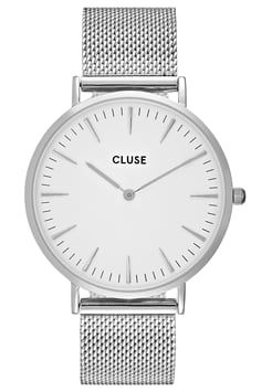 Cluse - LA BOHÈME - Uhr - silver-coloured/white