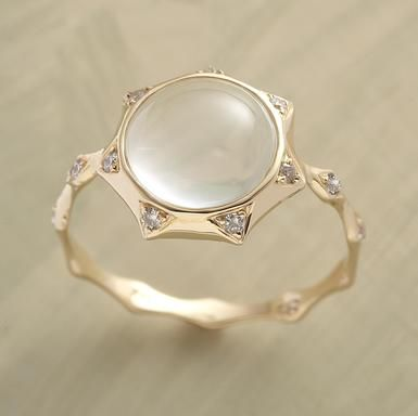 sungazer #ring... i sort of love this. now if only i could find one with the sun from #Tangled...
