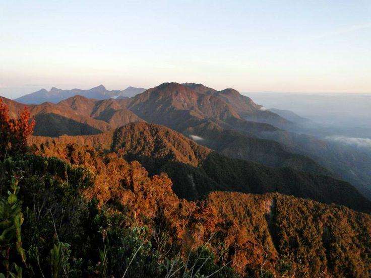 Cadena montañosa de los farallones del Citara - Entre Andes, Betania y Ciudad Bolivar