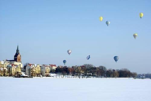I Mazurski Zimowy Festiwal Balonowy odbył się w 2011 r. w Ełku. Czy będzie powtórka?  Autor Jerzy Czerniawski