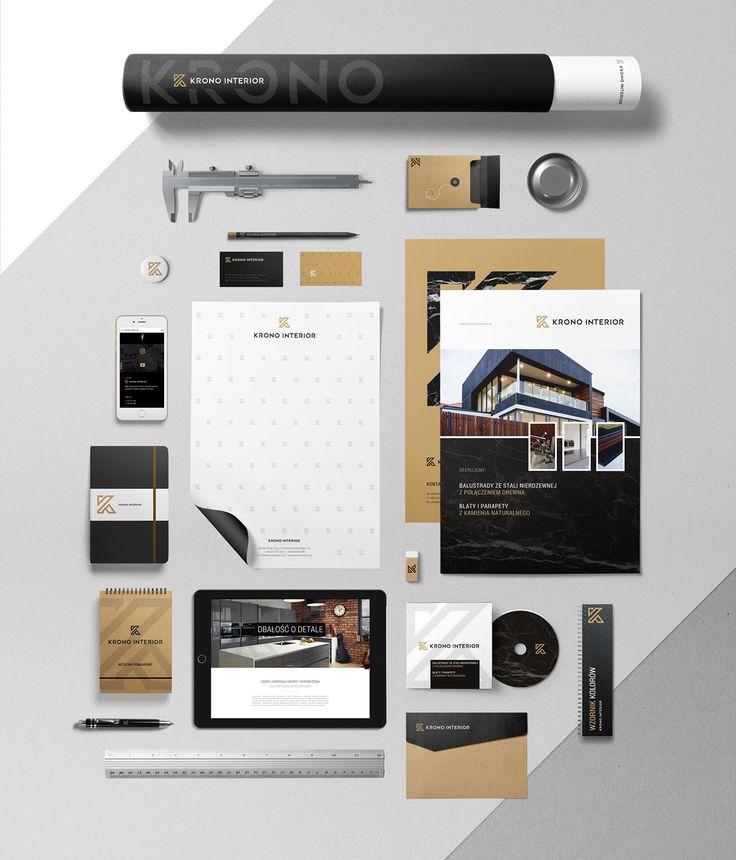 Krono Interior   branding on Behance