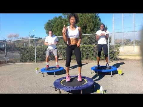 30 minute rebounding with AChampion great for lymphasizing (look it up :)