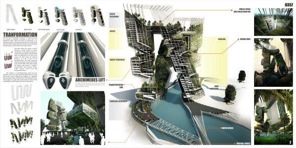 Water Purification Skyscraper in Jakarta