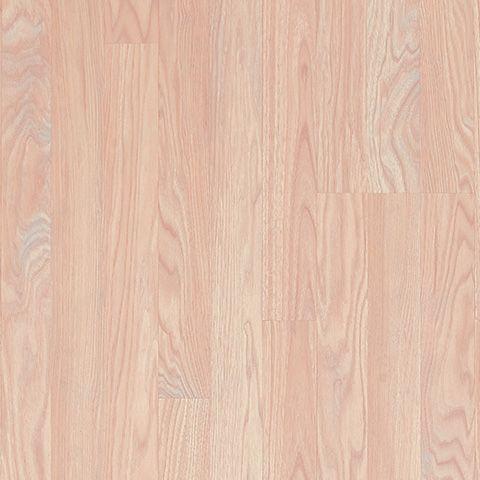 Exceptional Blush Oak Textured Laminate Floor. Light Oak Wood Finish, 8mm 3 Strip Plank