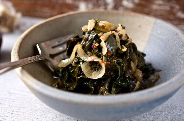 Recipes for Health - Collard Greens - Rethinking a Southern Classic - NYTimes.com