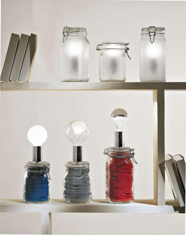 colorful jars - Barattoli di design