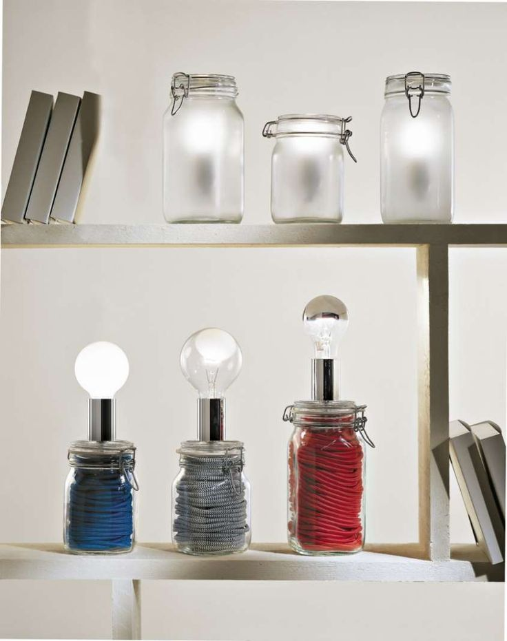 colorful jars - Barattoli di design