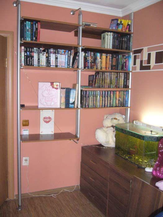 Как разместить книги и сохранить жизненное пространство