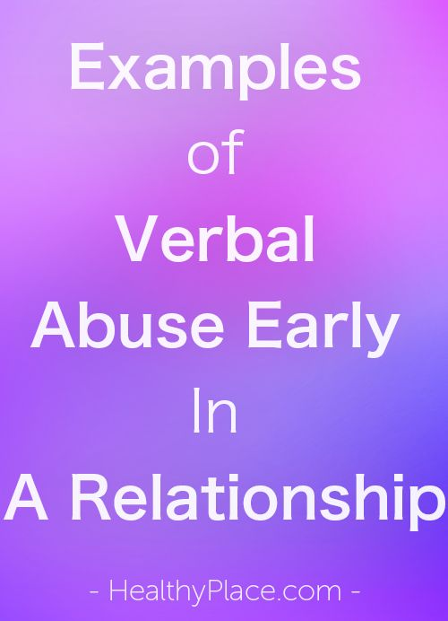 articles on verbal abuse in a relationship