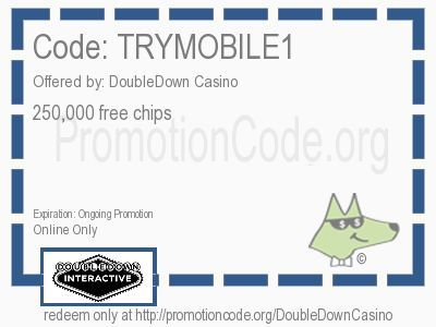 250,000 free chips coupon