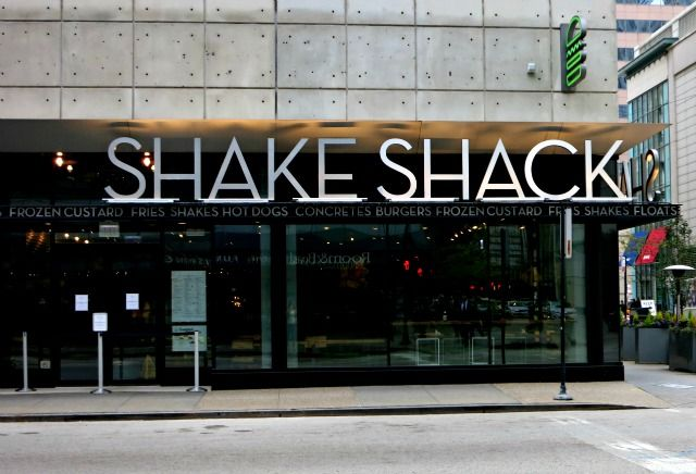 Shake Shack ... The cult burger and shake restaurant opens today. Get in line.