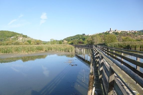 Oasi Naturalistico La Valle, Lago Trasimeno, Umbria, Italy