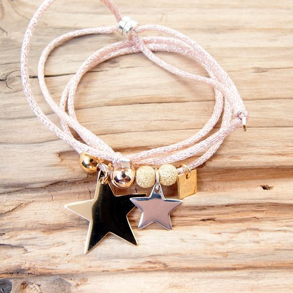 Collier Bracelet Etoiles