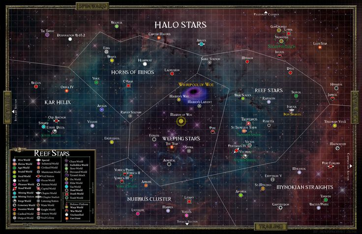 WH40K The Reef Stars Sector by M00nprophet on DeviantArt