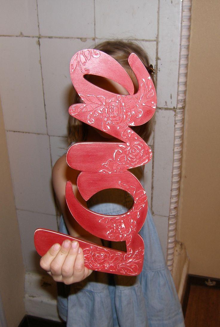 Слова, буквы, инициалы для фотосессии, подарка на свадьбу, именины, день рождения, крестины. Сделаю на заказ.