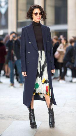 Street Style, Yasmin Sewell, Leather Boots, Autumn Winter Style, Fashion Week, Luxury Fashion