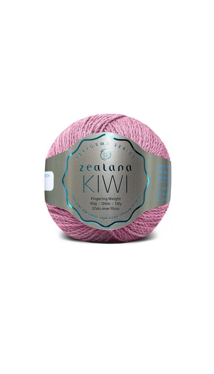 Zealana Kiwi Fingering 15 Aurora Pink