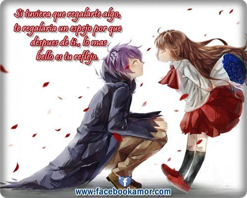 Imagenes Con Mensajes De Amor: Imagenes De Amor Con Frases De Amor Para Facebook De Anime