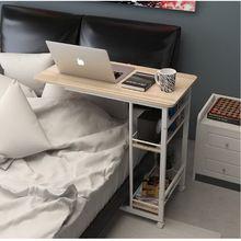 250307/Домой кровать с простой стол/Высокое качество настольных/Толстые трубы/Складной мобильный небольшой письменный стол/ленивый постели ноутбук стол/(China (Mainland))