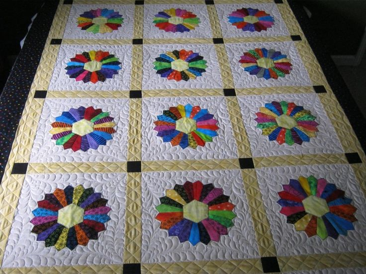 132 Best Images About Quilts Rings Amp Fans On Pinterest Dresden Quilt Quilt And