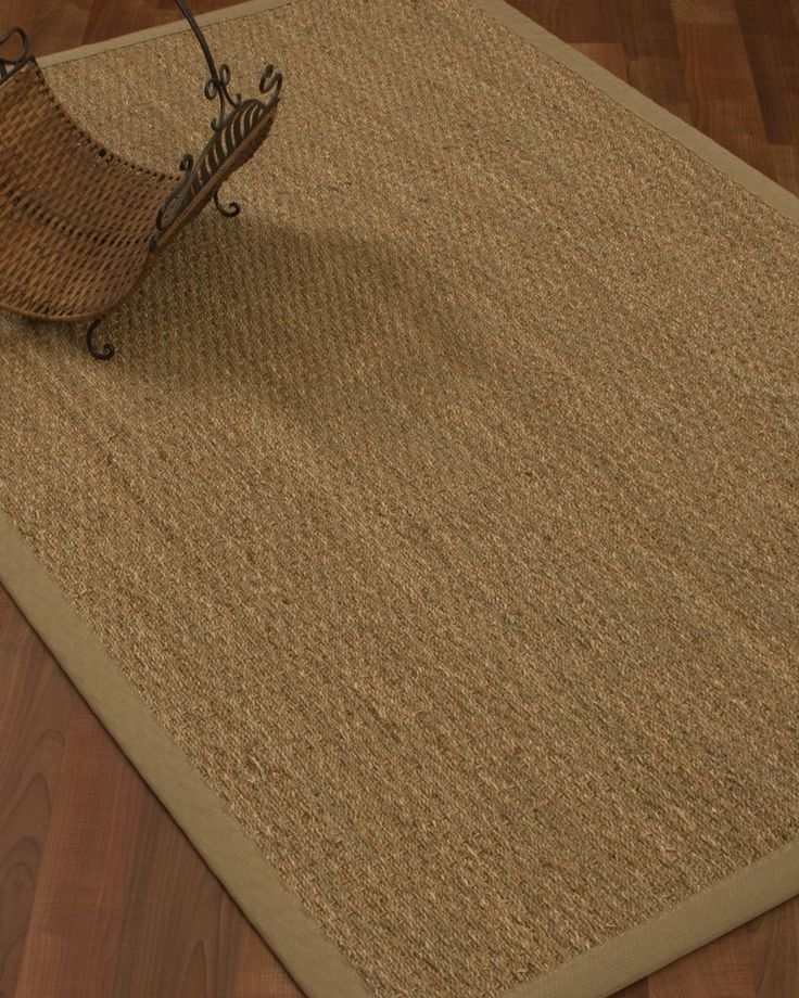 amazoncom natural fiber maritime seagrass rug 5u0027 by 8u0027 - Natural Area Rugs