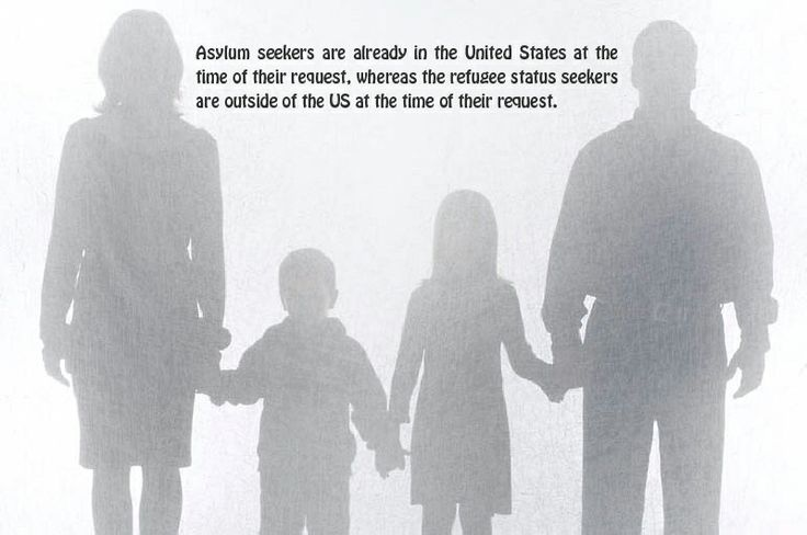 Asylum status and refugee status are very similar and the main difference between these two is the location of the person who seeks either refugee or asylum status. All the people who seek asylum must meet the definition of a refugee. For more information concerning asylum and other immigration issues, please visit- http://www.landerholmimmigration.com
