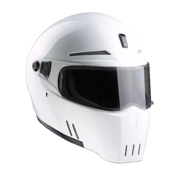 #Bandit #Alien-II #White #Motorcycle #Helmet Buy yours on www.helmade.com