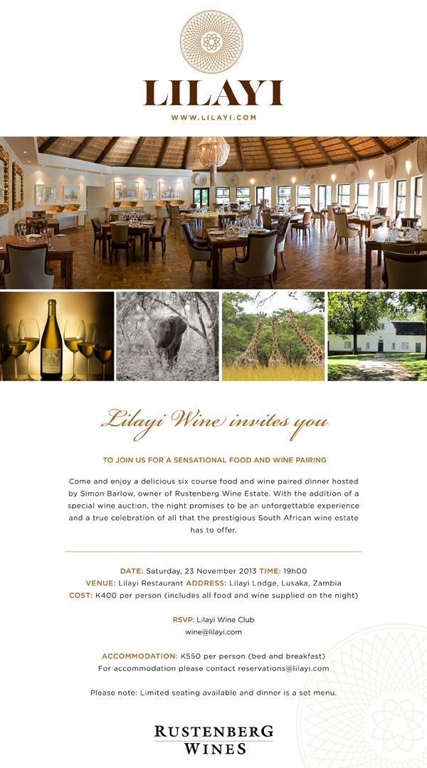 Lilayi-Rustenberg-Food-&-Wine-Pairing