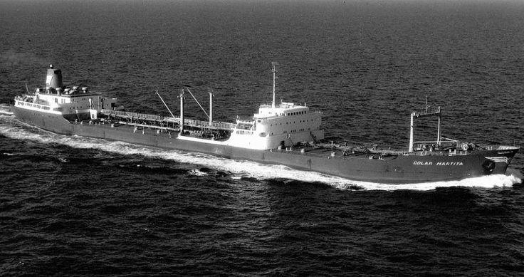 Golar Martita working from october 1968- stop sailing november 1970