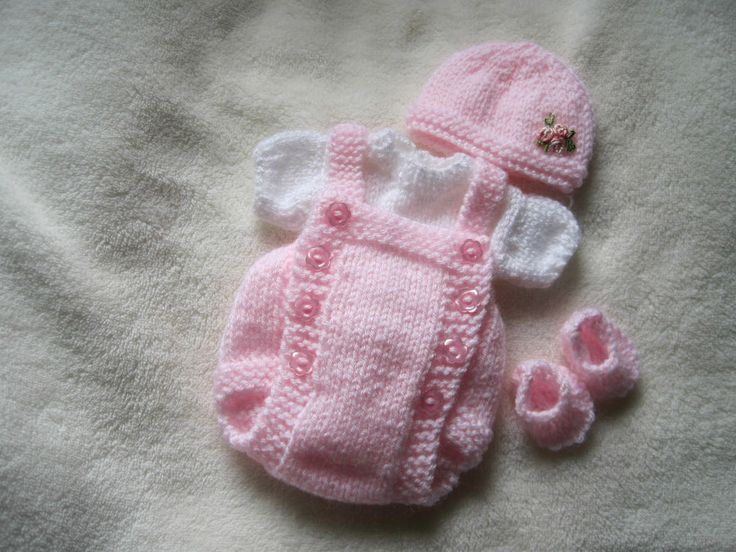 """Hand knitted dolls clothes for 8-9"""" ooak sculpt / Reborn"""