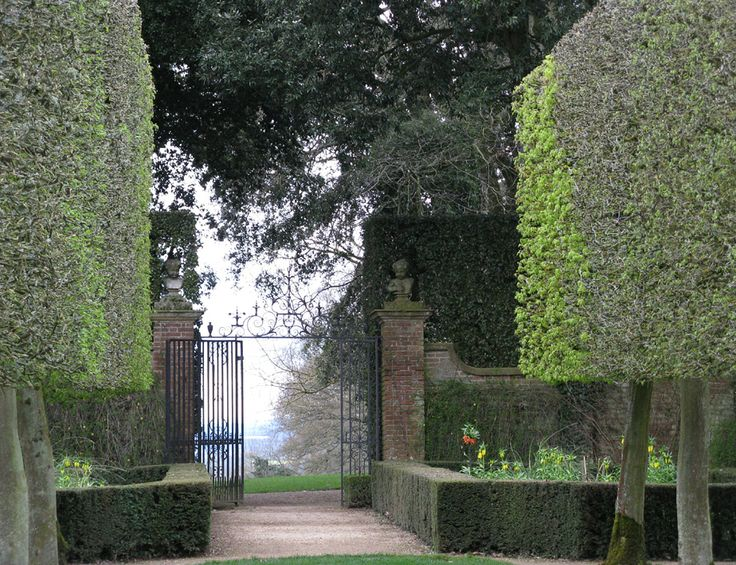 Hidcote is an excellent mix of formal and informal planting.