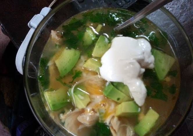 chicken tortilla soup Recipe -  Yummy this dish is very delicous. Let's make chicken tortilla soup in your home!