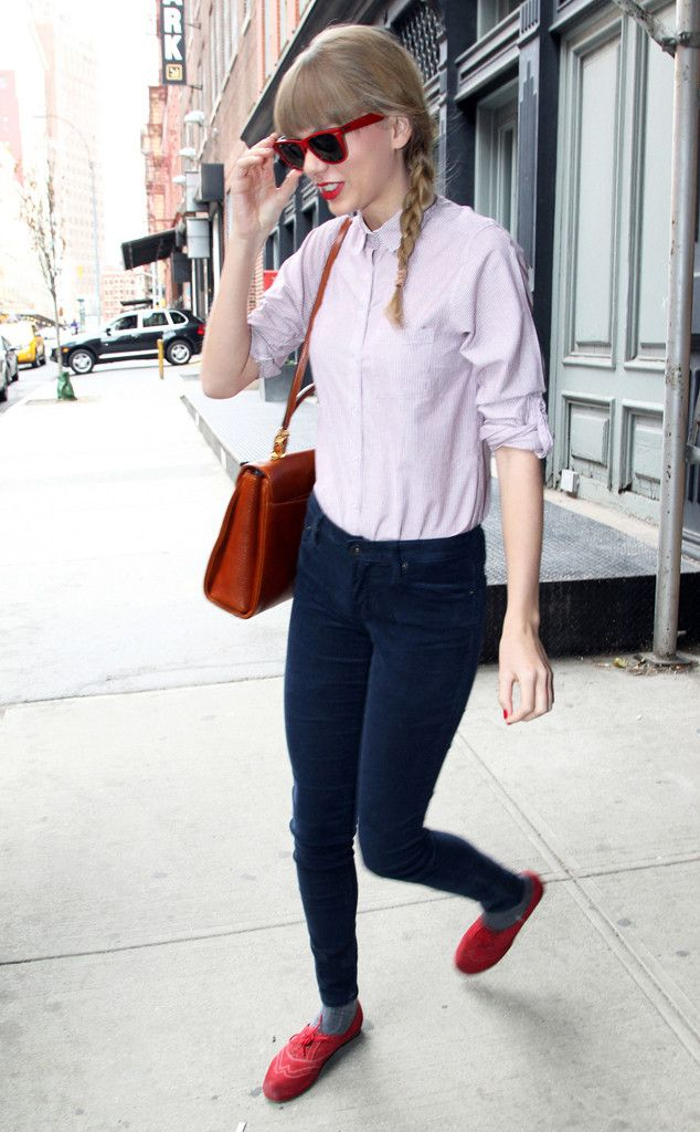 Braids and Shades from Taylor Swift's Street Style | E! Online