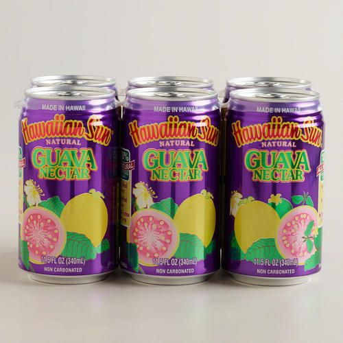 One of my favorite discoveries at WorldMarket.com: Hawaiian Sun Guava Nectar, 6-Pack