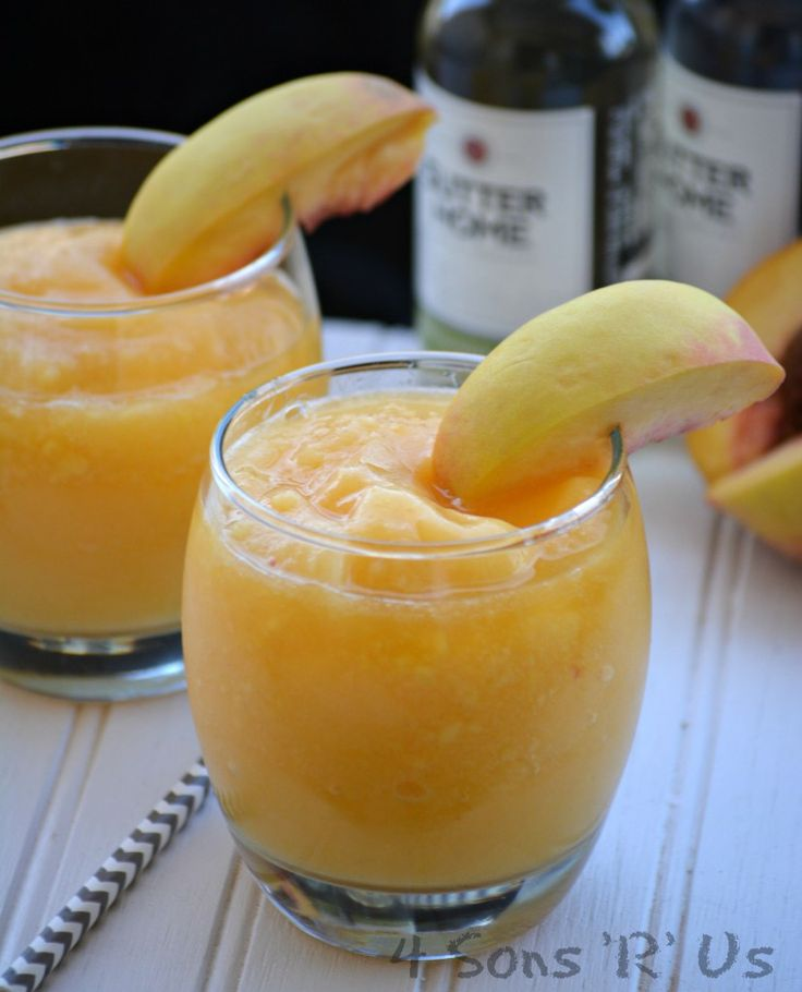 Warmer weather means getting together with good friends and soaking in the afternoon sunshine or enjoying the special light from the days last rays. Pair those moments with a special cold concoction. Frozen Peach White Wine Slushies are an almost effortless cold cocktail. Your favorite fruity wine and juicy frozen peaches are a match made …