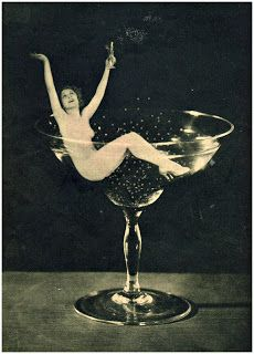 champagne - vintage photography foma press 1930