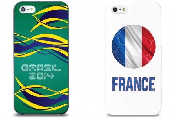 Le pack de coque iphone France et brésil .